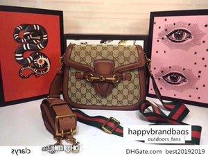 Firma NO.2GU Señora Web Tan monogramas raya Correa RCPT s patrón GG hombro bolsa de cuero marrón tamaño Italia :: 25 * 16 * 7cm ize 25 16 7 cm
