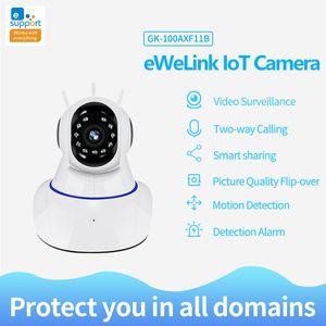 eWeLink APP Camera Smart IOT HD Camera Reomotely Viewing IOT HD 720P Smart Wireless WIFI IP CCTV Home Night Vision