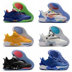 New BB 2.0 Basketball Adapt Hommes Chaussures Mag Gamer exclusif Tie Dye Planète des Hoops Sneakers royales entraîneurs des hommes de sport taille 7-12