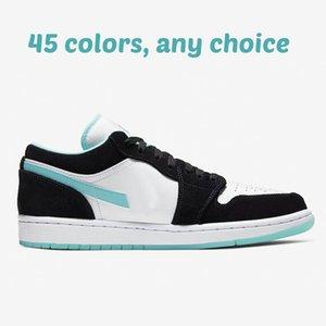 a buon mercato nuovo 2020 jorrdan 1 bassa Shattered Toe Tabellone Nero Rosso Giallo delle donne degli uomini bambini Scarpe da basket da vendere scarpe da ginnastica negozio di scarpe US4-12