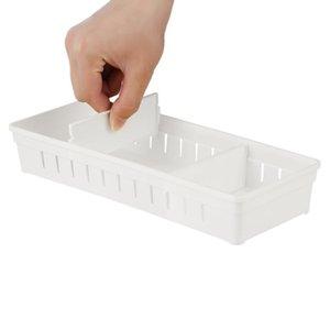 Drawer Plastic Finishing Box Separation New Basket Diy Separator Drawer Dividers Adjustable Debris Free Divider Storage Storage VNJVm