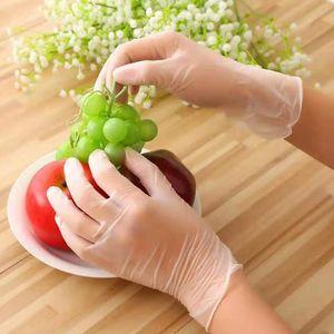 Hausarbeit Unisex Einweg-Reinigungs Mechanic Schutz Nitrilgewebe Wasserdicht Reinigungs Handschuhe Werkzeugteile DHC1781