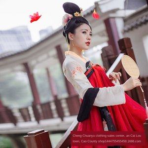 Costume de fadas estilo bNuG2 aXwn1 antigos das mulheres peito de comprimento roupas saia de verão diário melhorou estilo fresco chinês saia longa antiga e