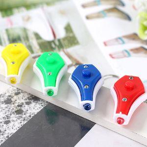Zemin itme LED toplu Mini minyatür mor ışık banknot dedektör anahtar vazo vazo zincir banknot dedektör