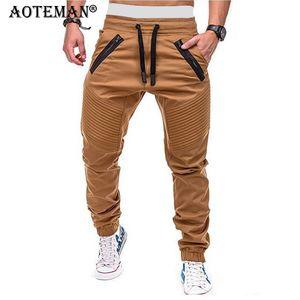 Pantalones Hombres pantalón cargo Streetwears Joggers deporte de los hombres Ropa táctico pantalón Pantalones masculinos Casual Moda 2020 LM168