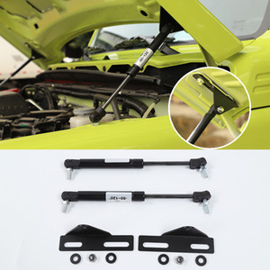 Metal Black Car Hood Hydraulic Rod Front Hood Lift Supports For Suzuki Jimny 2019 2020 Car Interior Accessories