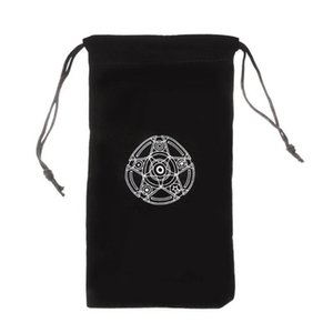 Board Velvet Storage Drawstring Home Tarot Tarot Bag 19x10cm Bag Pentagram Storage Jewelry Toy Game Package Card Portable Mini yxlycp