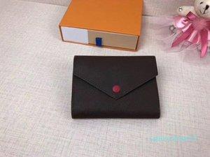 Y07 Оптовой дизайнер кошелек кожаных многоцветной монеты кошелек короткого бумажник Полихроматического кошелек леди держатель карты классической мини-молния карман сумка