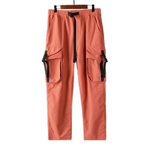 CP topstoney PIRATA EMPRESA konng gonng primavera y otoño los nuevos pantalones casuales tendencia de los hombres de los guardapolvos de los pantalones delgados pantalones de bolsillo de diseño para hombre