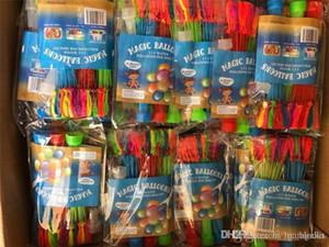111 шт Водных шаров игрушки закачка воды Rapid Заполненные лето Водяная бомба для детей Воды заполненных шаров Пляжа Fun Party Chindren Детских игрушек