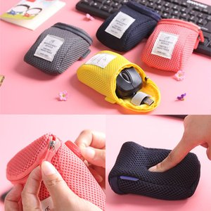 Storage Bags Organizer System Kit Case Portable Digital Gadget Devices USB Cable Earphone Pen Travel Cosmetic Insert WX9-872