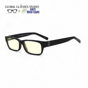 Anti Blau lichtundurchlässige Brille Acetate optische Gläser Vollrand Unisex cmputer RM00482 C1 Mutter Sonnenbrille Großhandel Sonnenbrille Fro Rklb #