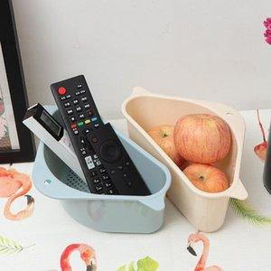 Dreieck Drain Basket Küche Waschbecken Filter Gemüse Rack Saugschale Waschbecken Filter Früchte Gemüse Waschen Aufbewahrungskorb Werkzeug DHC4316