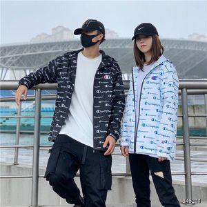 2020 Champions Mens Designer Face Jackets Women Cardigan Jackets Dust coat Splicing Caps outdoor Men Women Fashion Wind proof S-2XL 06548