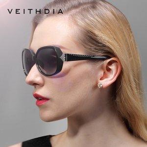 VEITHDIA mode Big Oversize Lunettes de soleil Polarisés Lunettes Vintage Ladies oculos de sol Feminino pour les femmes VT7011 BHFL