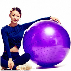 95cm Fitness Ball Yoga Ball Children Thickening Explosion Proof Authentic Products For Pregnant Women Dedicated Birth Air Pump Ball Ba jO21#