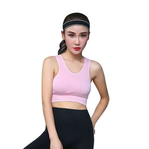 2020 impulsar un nuevo secado rápido Deportes Bra top sin cables corriendo Top Mesh costura Yoga sujetador Shake prueba de aptitud acolchado gimnasia