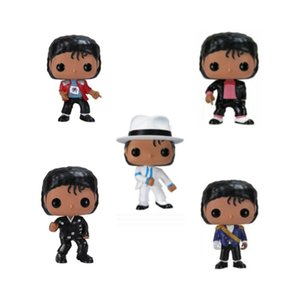 Michael Jackson Action Figure Anime Figure Dolls BEAT IT BILLIE JEAN BAD Vinyl Fans Collection Cartoon Model Kids Toys Birthday Gift