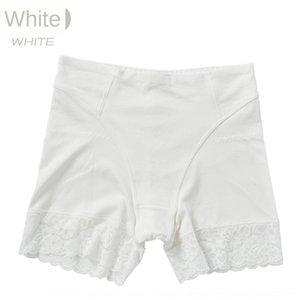 Xb5Kn Sécurité Body Shaping pants boxeur taille femmes coton abdomen dentelle hanche haut pantalon mince levage culotte boxeur sécurité anti-exposition
