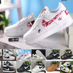 High Quality Men Low Skateboard Shoes Cheap New Designer One Dunk 1 Knit Euro Air High Women All White Black Red Trainer Sports Shoes GF3SX