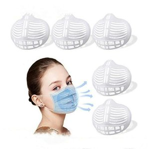Bracket Lipstick Silicone Protection Stand Mask Inner Support Enhancing Breathing Smoothly Masks Protection Frame Tool Accessory YYC2356