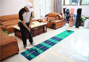 Golf Putting Green Golf Putter Putting Mat Trainer Indoor Mini Golf Equipment Training Aids Blanket Kit Mat for Home Office