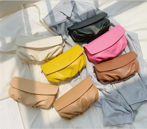Handbag women 2020 new solid color diagonal fashion casual trend female bag temperament versatile waist bag ladies shoulder bag free shippin