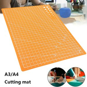 Professional Self-Healing Cutting Mats Rectangle Grid Lines A3 A4 Patchwork Tools Manual DIY Pad