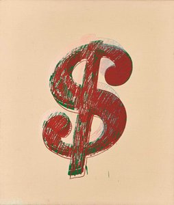 Andy Warhol Dollar sign Home Decoration Oil painting On Canvas Wall Art Picture For Living Room Wall Decor 200830