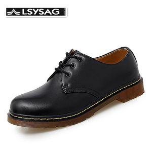 Обувь Мужчины высокого качества из натуральной кожи Мужская обувь Работа безопасности Повседневный Doc Martins SCARPE Uomo Квартиры Oxfords Мокасины Ботинки платья