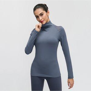 SALSPOR Women Yoga Shirts Sport Slim Longsleeve Training Running Gym T Shirts Fitness Spandex Sportwear Women
