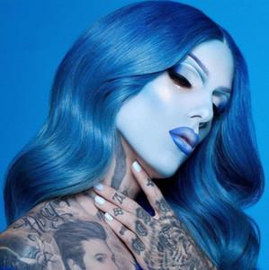 2020 J Étoile avancée BlueTone JS Palette de fard à paupières Blue Blood 18colors Shimmer Glitter Matte Ombre à paupières poudre Plate
