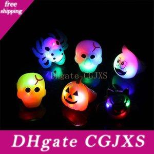 Cadılar Bayramı Kabak Glow Halka Partisi Atmosfer Glow Oyuncak Cadılar Bayramı Parti Süsleri Çocuk S Oyuncak Toptan DHL Ücretsiz Kargo