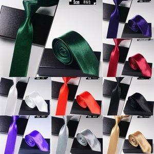 Komşu erkekler iş Komşu siyah kravat resmi kravat damat düğün Kore tarzı iş kariyer gümüş grisi Siyah lUx2k