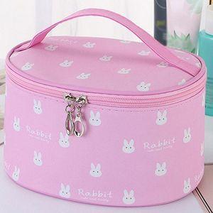 Women's Simple Large Capacity Oxford Cloth Storage Zipper Bag Cosmetic Bag Make Up Cosmetic Bags Big Capacity Box #G2 MQYA#