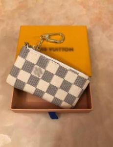 el envío 2020 nueva bolsa de LseeOQIG gratuito billetero de alta calidad de la tela escocesa mujeres de los hombres la carpeta del patrón puros de alta gama Tienes cartera con la caja 6022 002