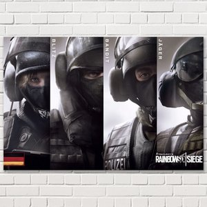 Rainbow Six Siege Poster For Hd Silk Canvas Posters Decoration Painting Game Picture For Bedroom Wall Art Prints Home Decor