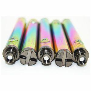 Rainbow Cigarettes Vision Spinner 2 II 1650mAh 510 Thread Vape Pen Variable Voltage ego Twist Spinners Cartridge Battery