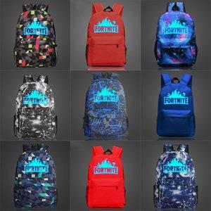 Biggie Orso Fortnite Fortezza notte luminosa zaino Cool Daypack Via Schoolbag Spray Zaino Scuola di Sport sacchetto esterno Day Pack # 181
