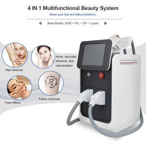 High Quality Professional hair removal IPL SHR machine IPL SHR OPT machine laser + RF + ipl hair removal tatoo removal face lifting