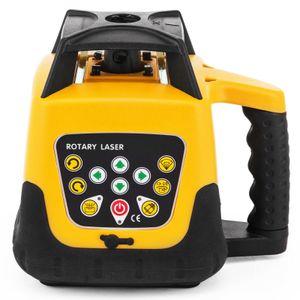 Зеленый лазер 500M Линия самовыравнивающая 360 Ротационный лазерный уровень строительства Автоматический Ротационный лазерный весы желтый цвет