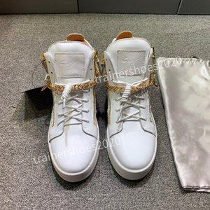 Giuseppe Zanotti shoes 2020 En İyi Stil Günlük Ayakkabılar En Kaliteli Modeli Loveres Erkekler Kadınlar Moda Sneakers Deri Yüksek Kaliteli Ayakkabı adn200802