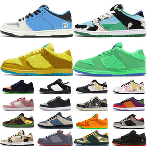 22020 SB Dunk Chaussures Chunky Dunky Sneakers Bas Low Skateboard Chaussures de course Paris Brésil Syracuse White Off Kentucky Casual Sports Formateurs