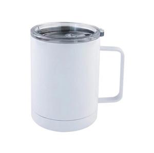 10oz Сублимационная тумблерная кружка из нержавеющей стали вакуумная утепленная кофейная чашка детские чашки молока с ручкой