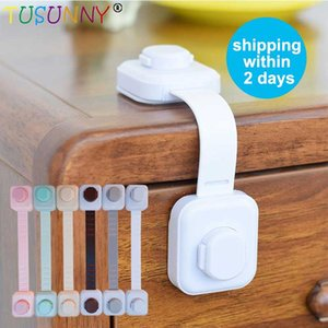 TUSUNNY 3pcs Lot Child protection Baby drawer Safety Lock locks from children on cabinets Cupboard Cabinet Door Drawer