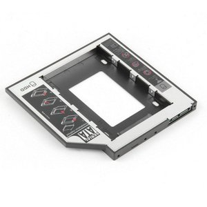 "250set Magnalium SATA 3.0 2nd HDD Caddy 9.5mm SSD Case Enclosure Optibay For Apple Macbook Pro Air 13"" 15"" 17"" Super Drive"