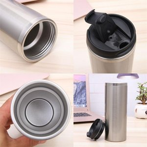 Business Affairs Vacuum Tumbler 420ml Volume Air Seal Tumblers Having Two Layers Stainless Steel Cup New 11yk C2