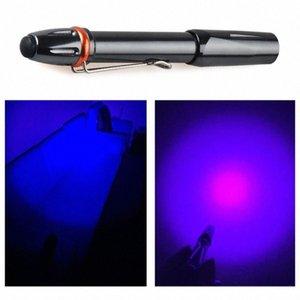 UV Kalem Cep Torch Güçlü 395nm LED Ultraviyole Işık Lambası Taşınabilir Algılama Çok Fonksiyonel Işıklar a8CV # tanımlayın