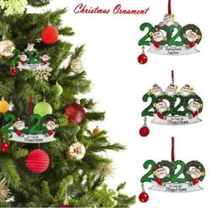 أرخص مصنع توريد الحجر عيد الميلاد أعياد ميلاد الحزب الديكور هدية المنتج شخصية أسرة مكونة من 4 نمط شنقا هدايا زخرفة