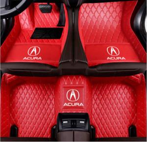 Костюм возможность для Acura TSX TL ILX MDX RDX RLX TLX 2006-2020 Роскошный заказ автомобилей Напольный коврик Non токсичны и без запаха